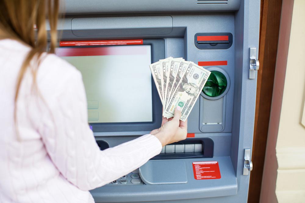 ATMでの返済