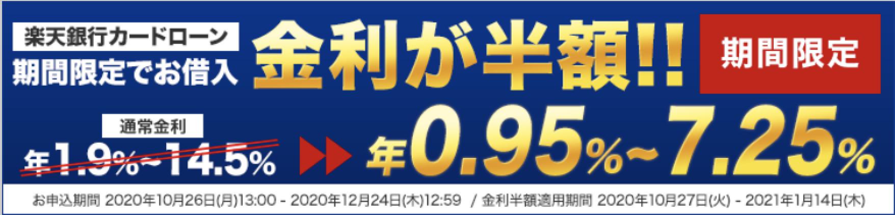 楽天銀行スーパーローンのイメージ画像
