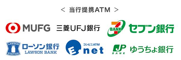 auじぶん銀行カードローンの提携ATM
