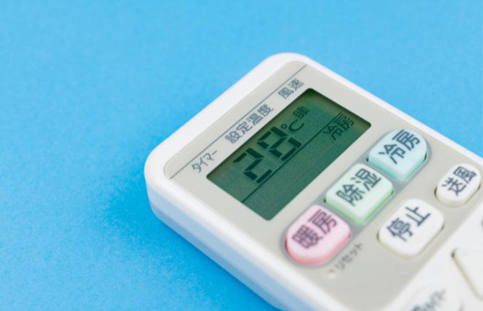 エアコンの電気代を節約したいなら夏場の冷房の温度は28度に設定する!