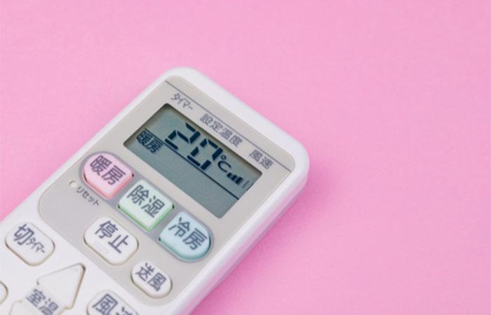 エアコンの電気代を節約したいなら冬場の暖房の温度は20度に設定する!
