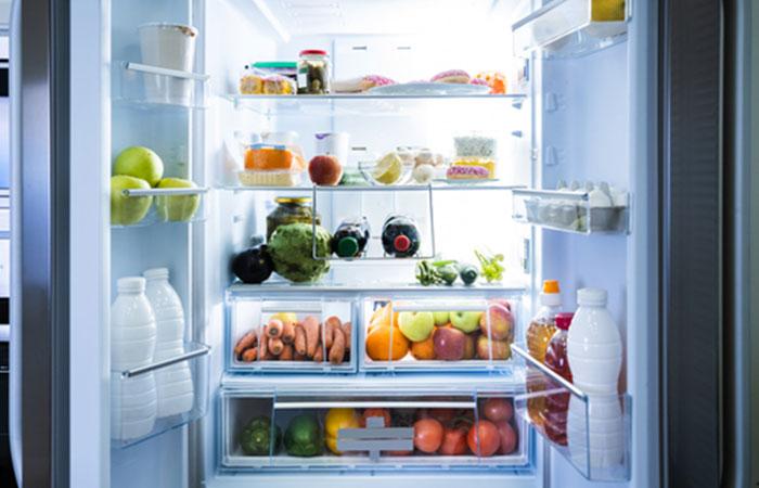 冷蔵庫の中身を常に把握しておく