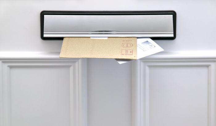 ライフティのカードは自宅に郵送される