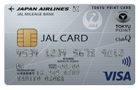 JAL普通カードTOKYUポイント