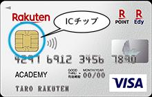楽天カードのICチップ