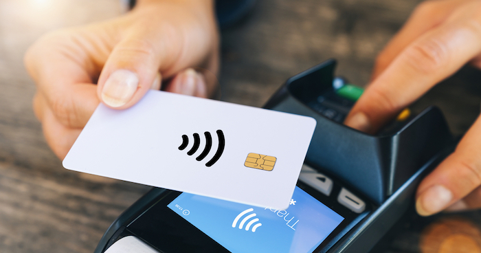 非接触型のICカード読み取り
